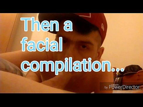 Big dick facial compilation