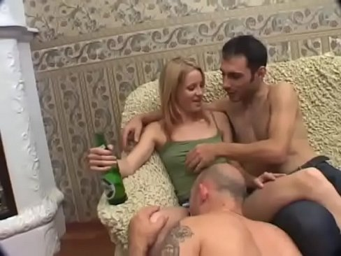 Sex two girls and a man