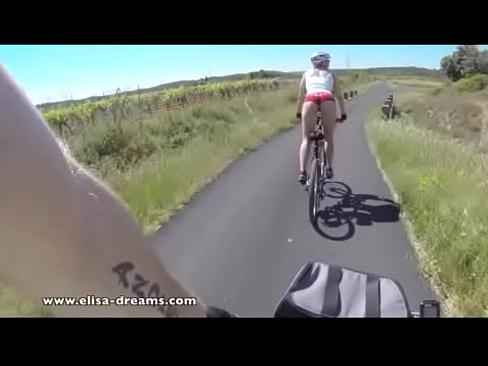 Boobs mountain bike