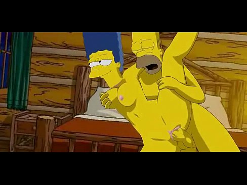 Homer marge sex video