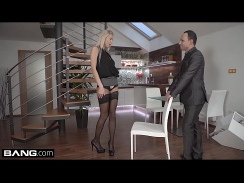 Glamkore - Sexy Euro Babe Karol Lilien Striptease for her lover, free sex video