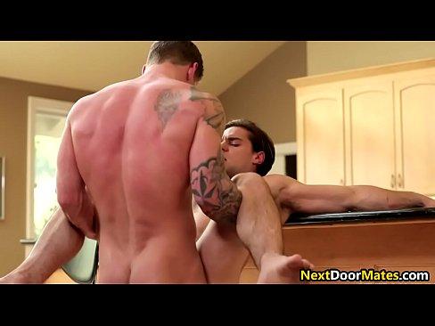 Sexy gay jocks fuck hard