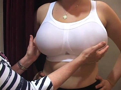 Open big bra no boobs shirt