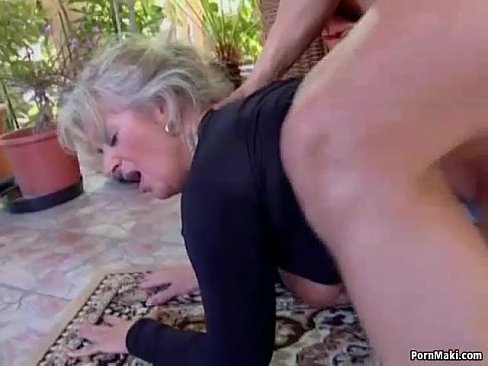 gets young cock Mom