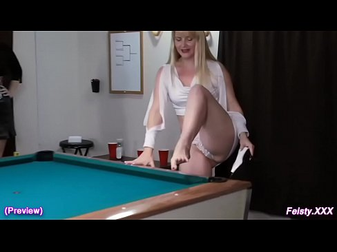 Bent over cum dripping pussy