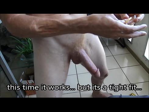 Black dick with condom destroys ass