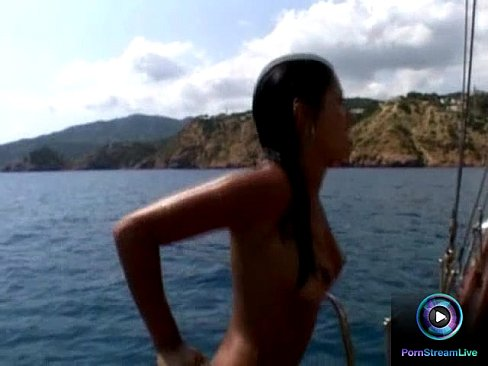 Naked Roxy Jezel and Jamie Brooks wants to do it at the boat