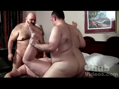 Two bears pounding