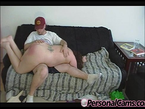 Bbw getting spanked