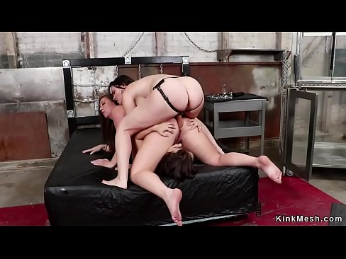 Lesbian Bondage Face Farting