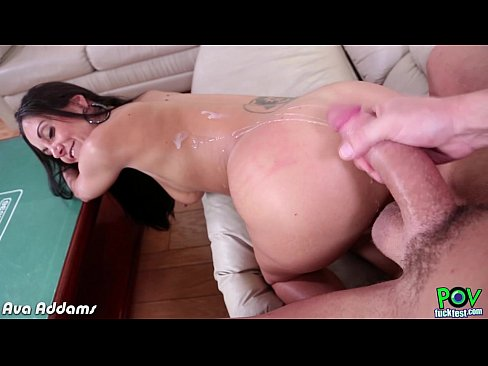 threesome fuck experience busty brunette ava addams