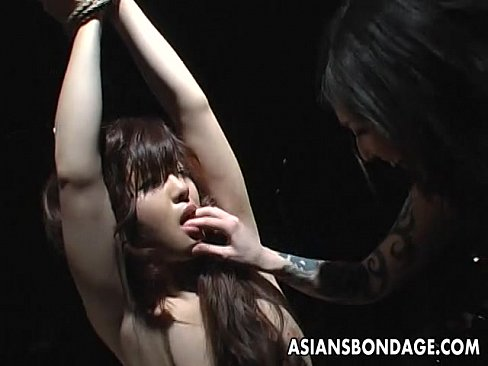 Lesbian topless hands tied eventually