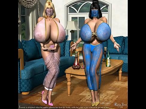 3D Giant Tits