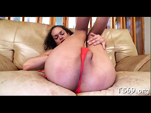 Beautiful tranny cock sucked and ass fucked