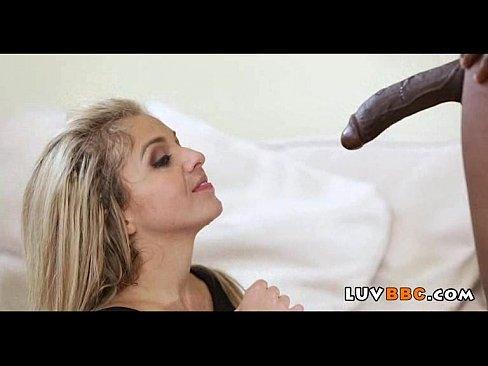Huge Black Cock Creampie