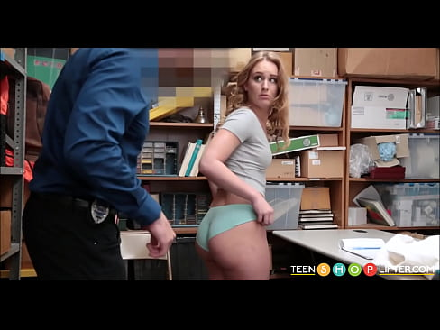 Sexy Young Blonde Pawg Caught Shoplifting Fucked By Security