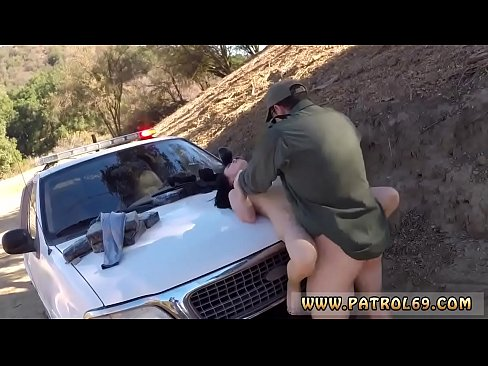 Cops police russian amateur takes it like a