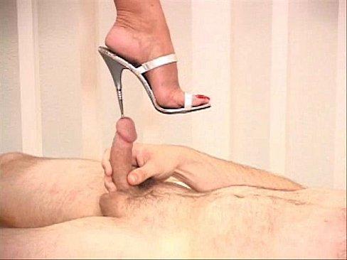 Femdom cum cock insertion mistress