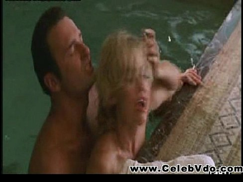 Kelly Carlson wet sex scene in indoor pool
