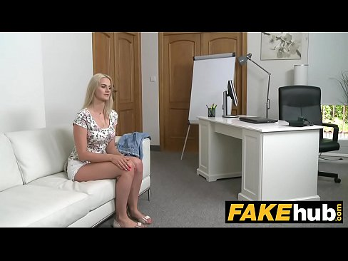 Amateur girl fucking the casting agent
