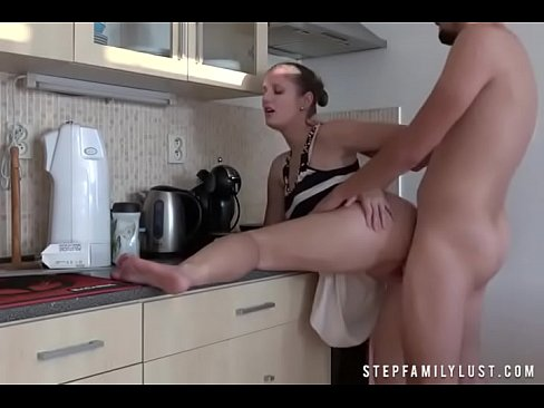 Cougar Step Mom Fucks Son