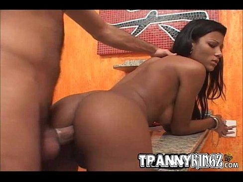 Brazilian tranny anal fucked hard-14420