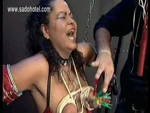 Hardcore make her cry slave sex