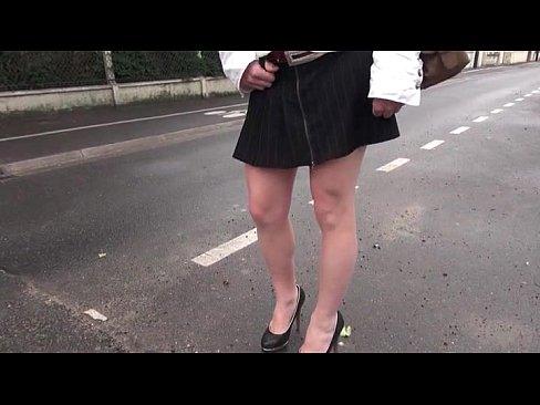 French Ebony Anal Amateur