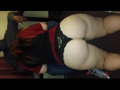 Hot naked slut blowjob