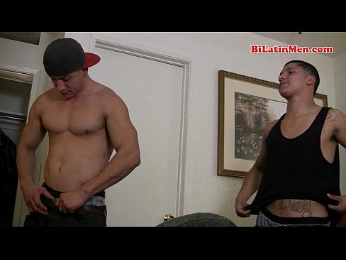 Str8 Latino Muscle Dude Fucks My Mouth
