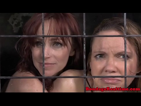 Bondage BDSM Bella Rossi placed on pogo