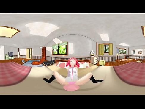 VR 360 Hentai Kasane teto by Matiwaran - more at patreon.com/Matiwaran