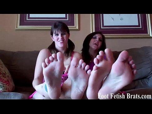 Foot fetish porn vids what