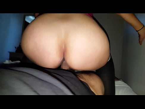 Sitting on that huge dick