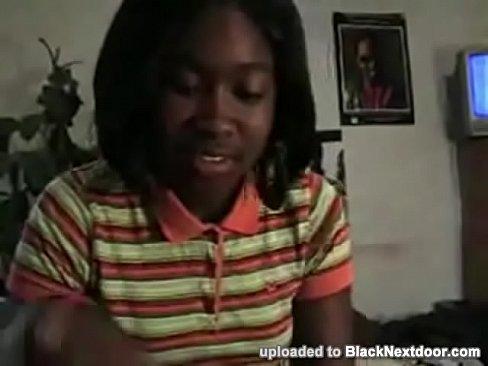Creamy Ebony Teen Homemade