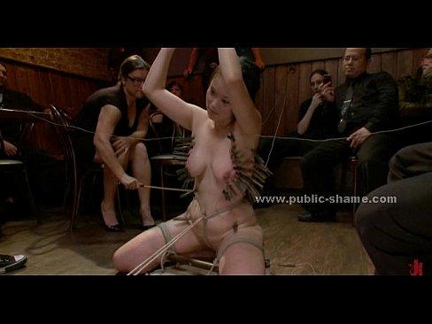 Public bondage video