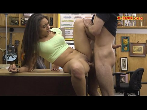 TAMERA: Amateur babe pounded by pawnshop owner