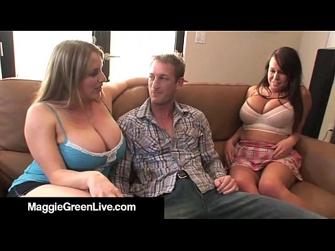 Bandy talore gets her mouth and tits white cum