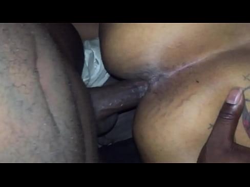 Big Booty Ebony Fucks Bbc