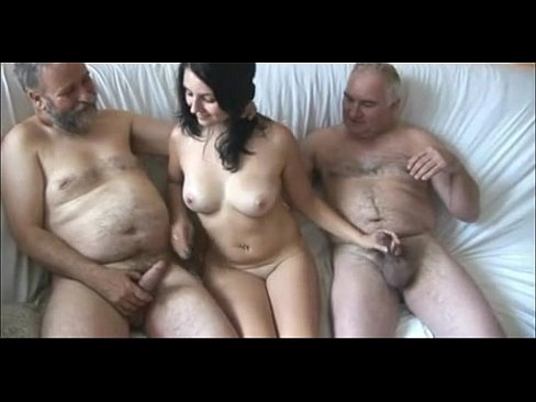 girl Old grandpa fuck