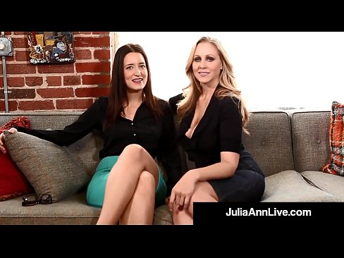 Femdom Milf Julia Ann & Kimberly Kane Make You Submit Sissy!