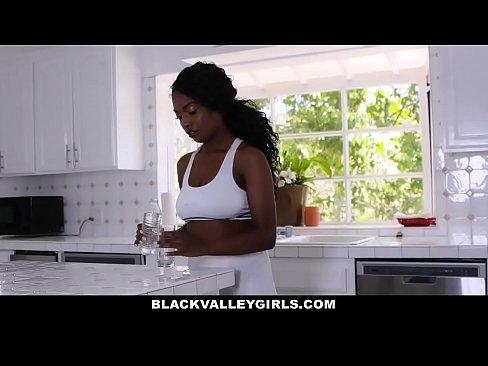 Ebony Teen Girl Masturbation