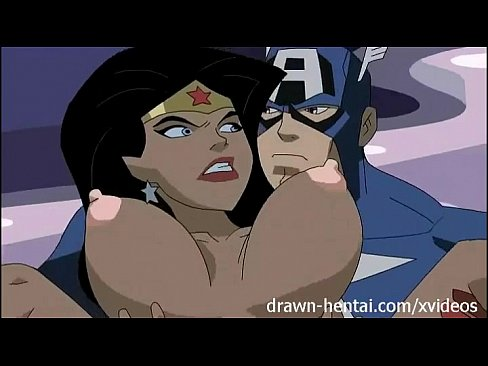 Wonder Woman Big Tits Cartoon
