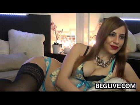 Slut girl strips on webcam