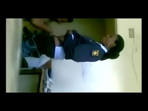Police porno african