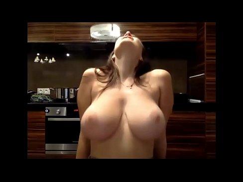 Drunk milf jiggling tits