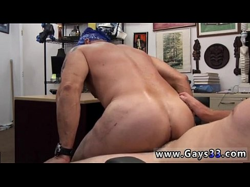 Vintage homosexual sex in a gym