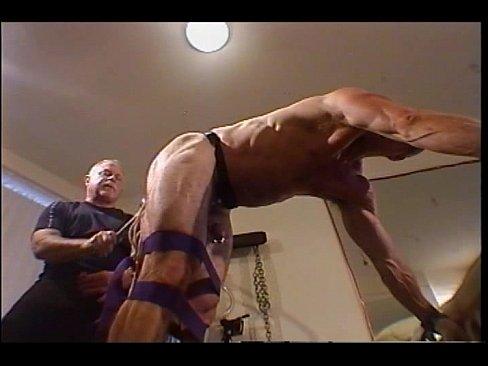 Jim Roberts Bondage Ball Bashing And Big Butt Plug