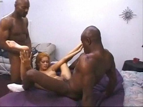 Daisy Marie enjoying two hot black dicks mexicandaisymarie.blogspot.mx