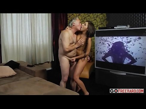Hairy Young Girl Fucks Old Man